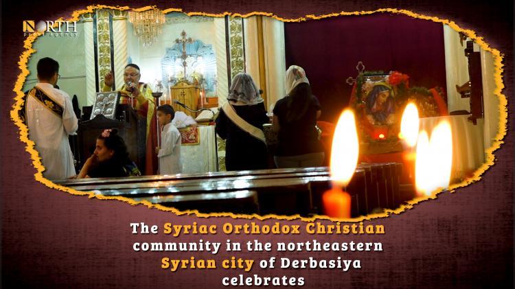 Photo of Syriac Orthodox Christians celebrate St. Thomas's Day away from Serekaniye