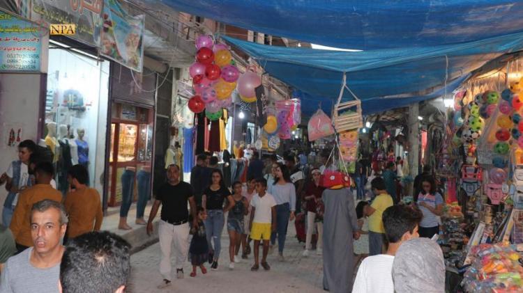 Photo of Amid concerns of recent Turkish threats, people of Kobani celebrate Eid al-Adha