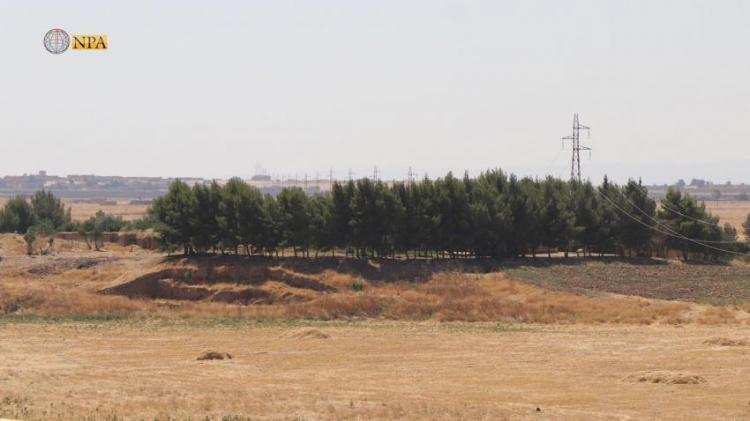 Photo of Al-Jazira s oldest archaeological site under threat of disappearance