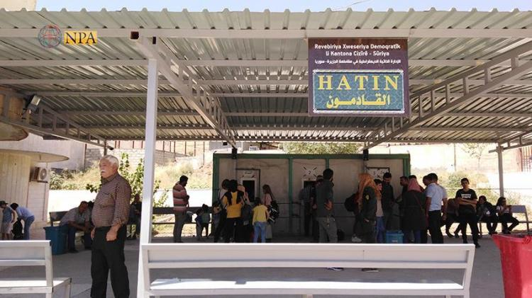 Photo of Semalka border crossing witness a large movement of Syrian returnees