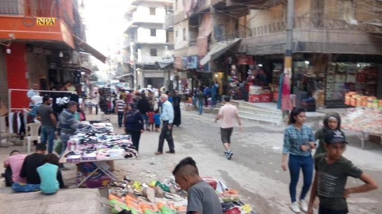 Photo of On the eve of Eid al-Adha, markets of Sheikh Maqsoud overcrowded in Aleppo