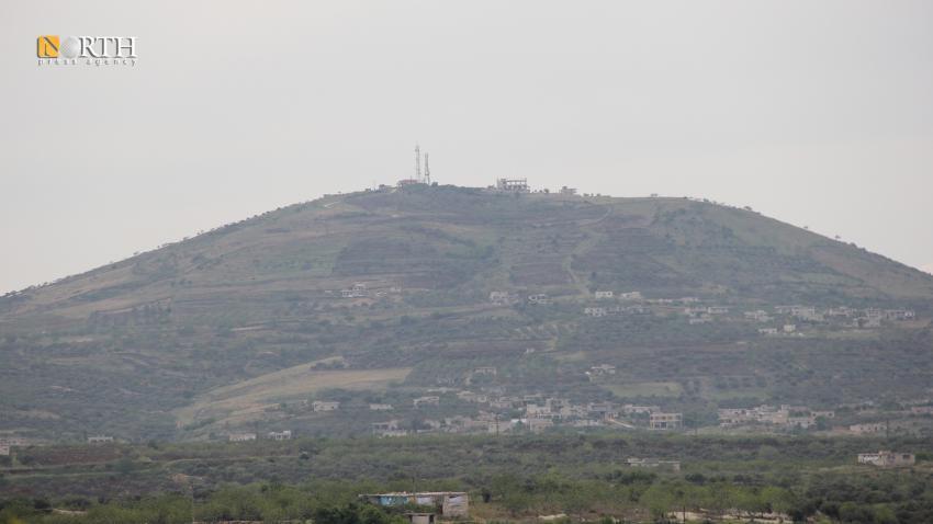 Idlib- Turkish military post in Nabi Yunus Hill in Zawiya Mountain- North Press