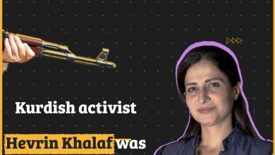 Photo of Kurdish activist Hevrin Khalaf's killer roams free in Sere Kaniye