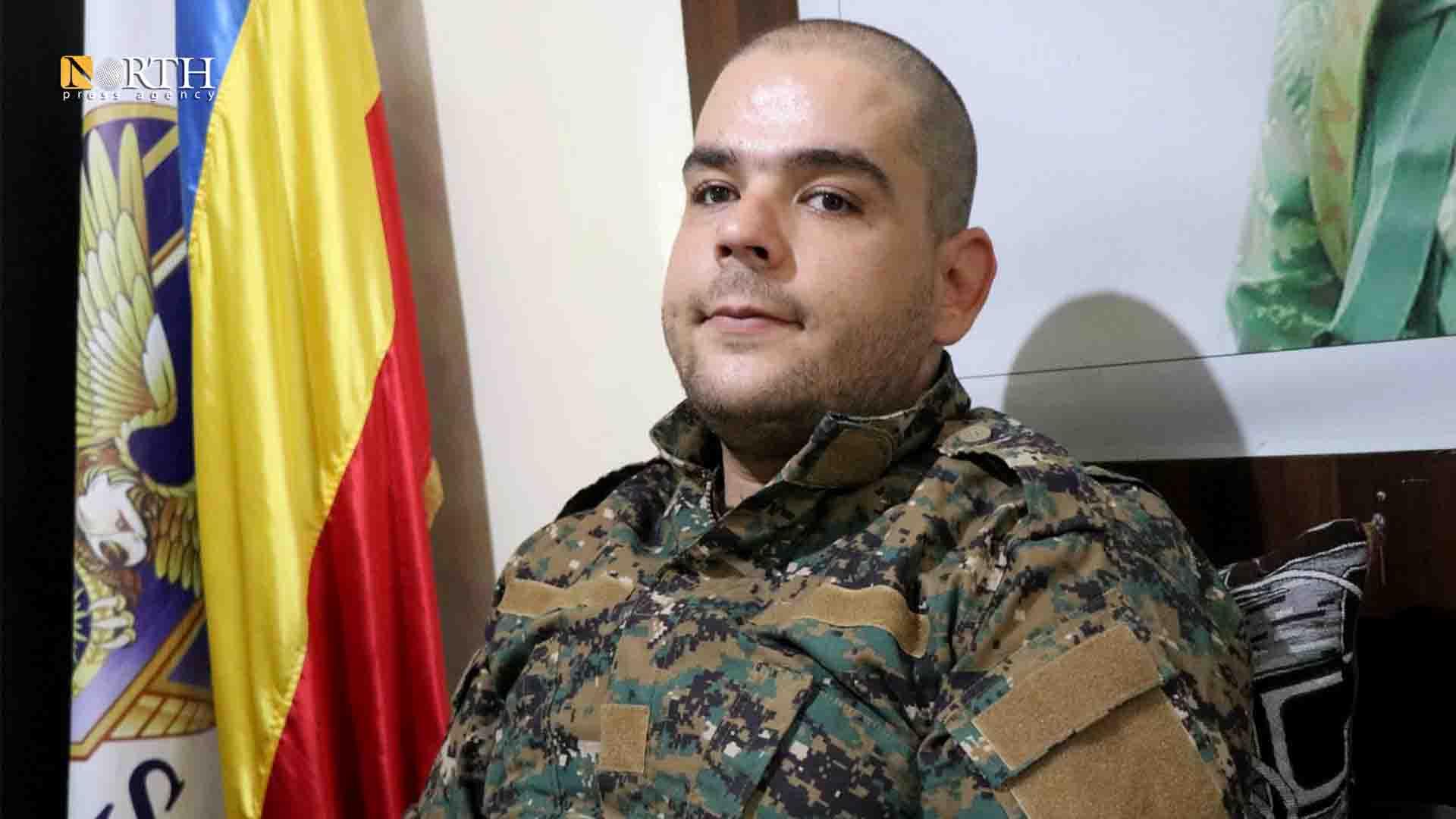 Aram Hana, Syriac Military Council commander