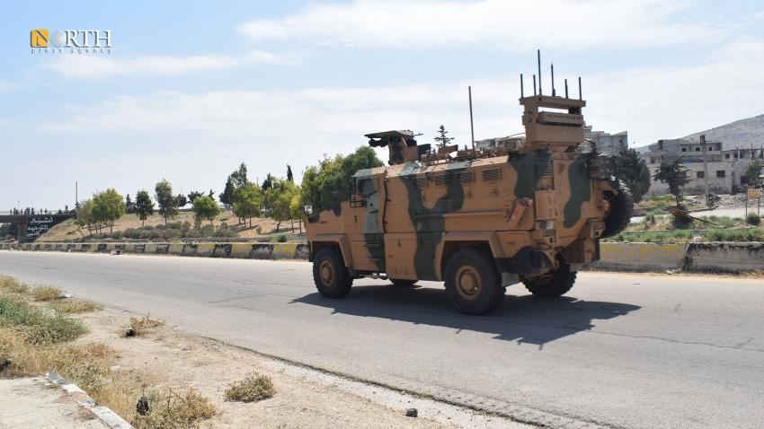 Turkish patrol in Idlib