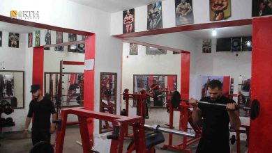 Photo of Bodybuilders in northern Syria's Manbij keep fit; look forward to future competitions