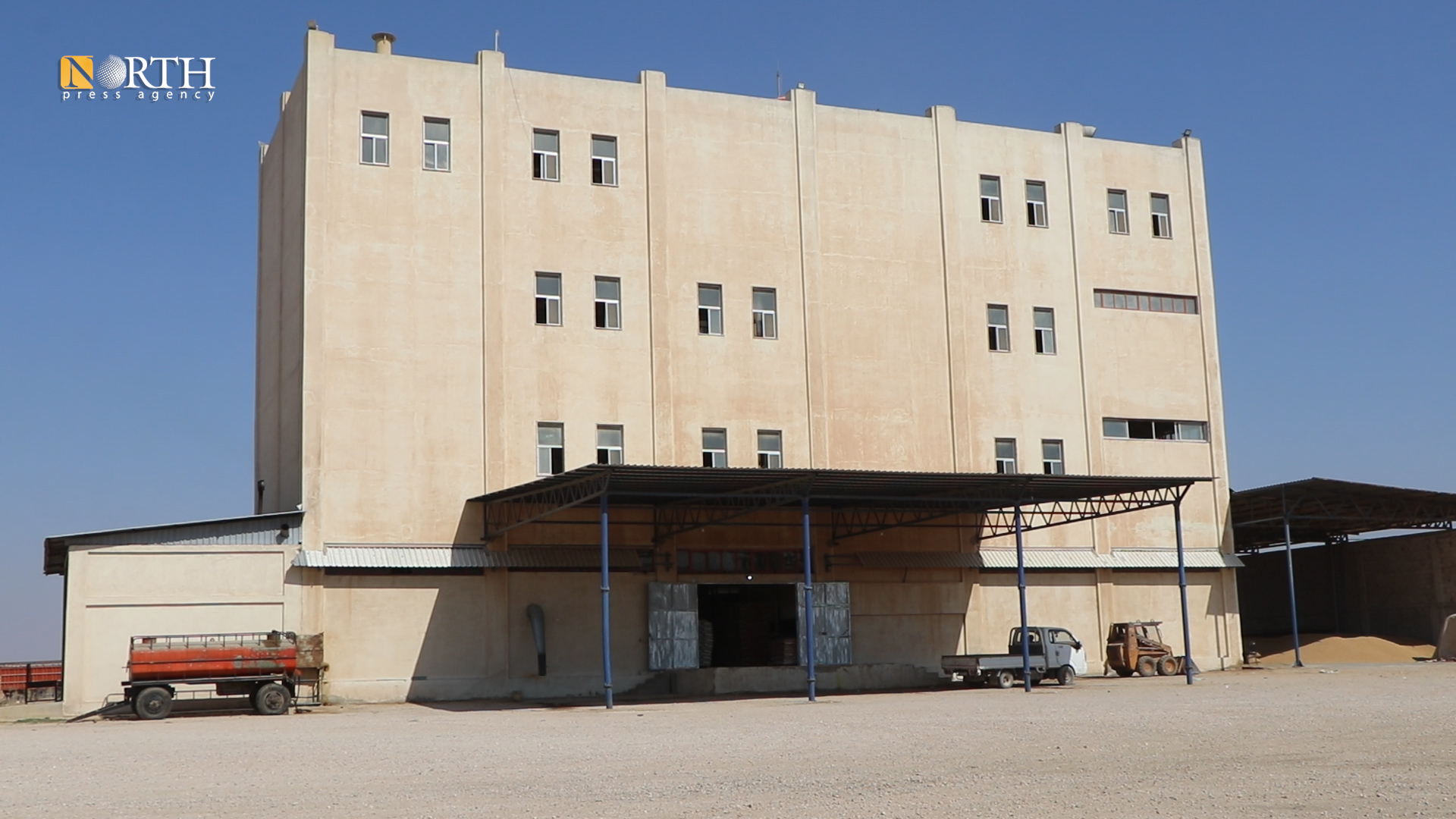 Qamishli, Judi factory for producing bulgur - North Press