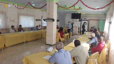 Photo of IDPs discuss challenges of displacement during symposium in Syria's Kobani
