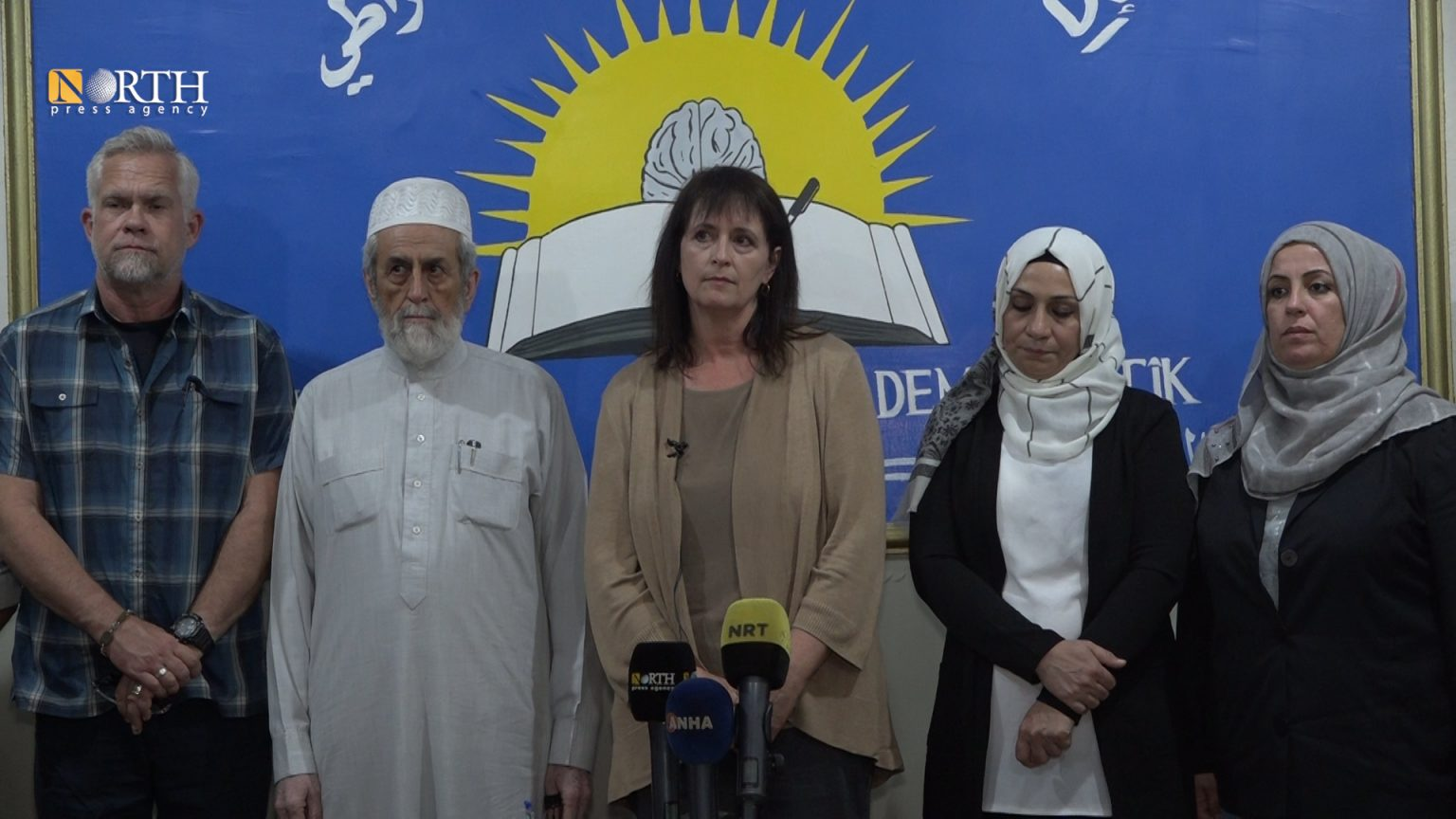 USCIRF Vice Chair Nadine Maenza at a conference in Qamishli – North Press