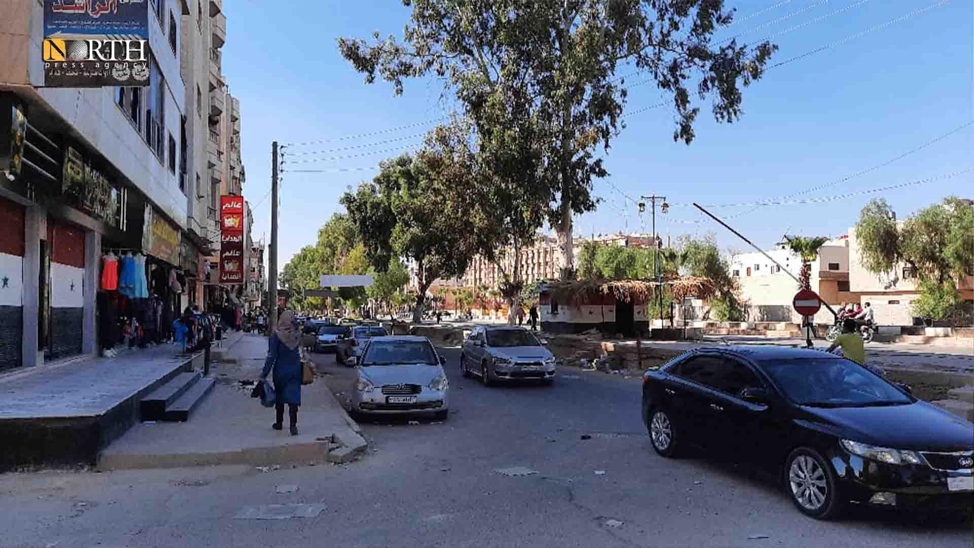 al-Mahatta street, Daraa – North Press