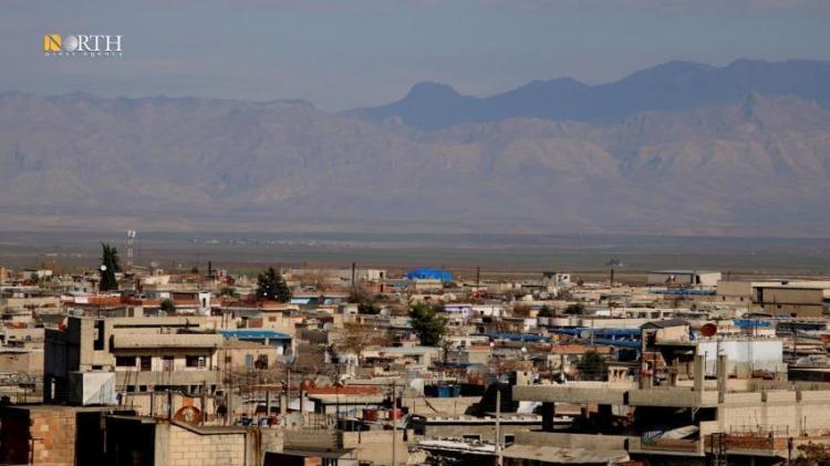 the city of Derik, northeastern Syria