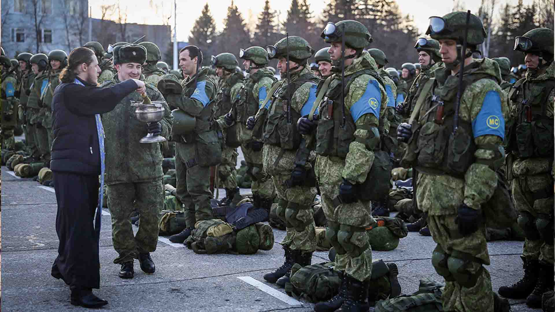 Russian peacekeepers are preparing to go to Karabakh