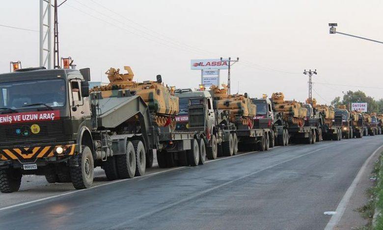 Photo of Turkey keeps sending reinforcements to de-escalation zone in Syria's Idlib