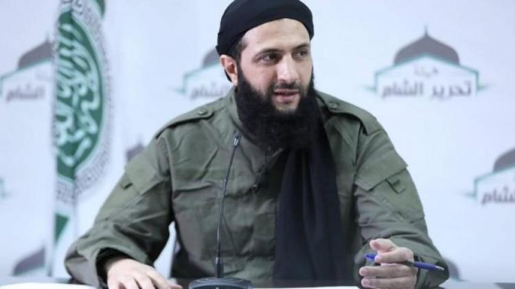 Abu Muhammad al-Jolani the leader of Hayat Tahrir al-Sham (HTS)