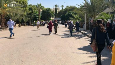 Photo of 'From Heart to Heart' voluntary initiative to help blind students in Syria's Damascus