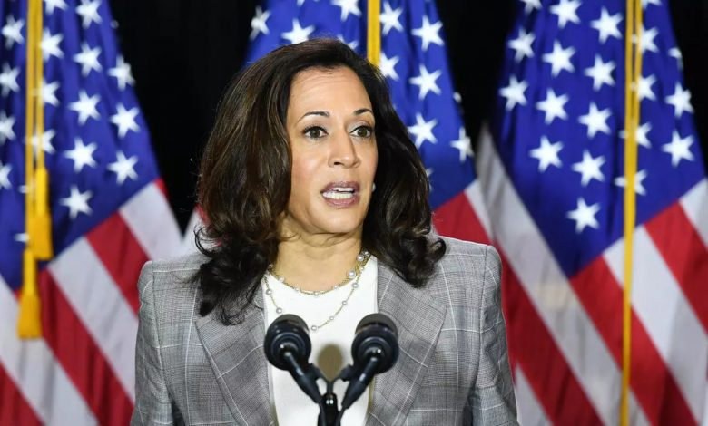 Photo of We have to fund transfer of power ourselves, Kamala Harris