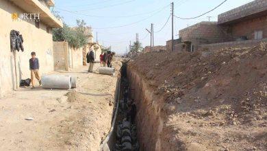 Photo of Maintaining sanitation in Syria's Hasakah countryside