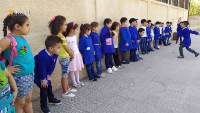 Photo of A school closed due to coronavirus outbreak in Syria's Suwayda