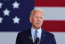 Photo of I will fight terrorism and violence, Biden