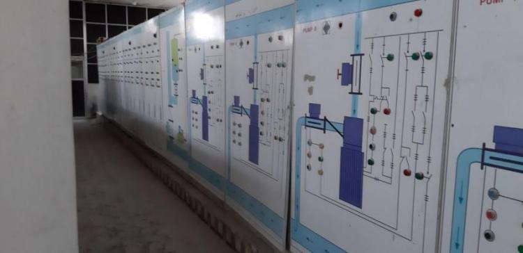 Alouk Water Station east of Ras al-Ain, northeastern Syria
