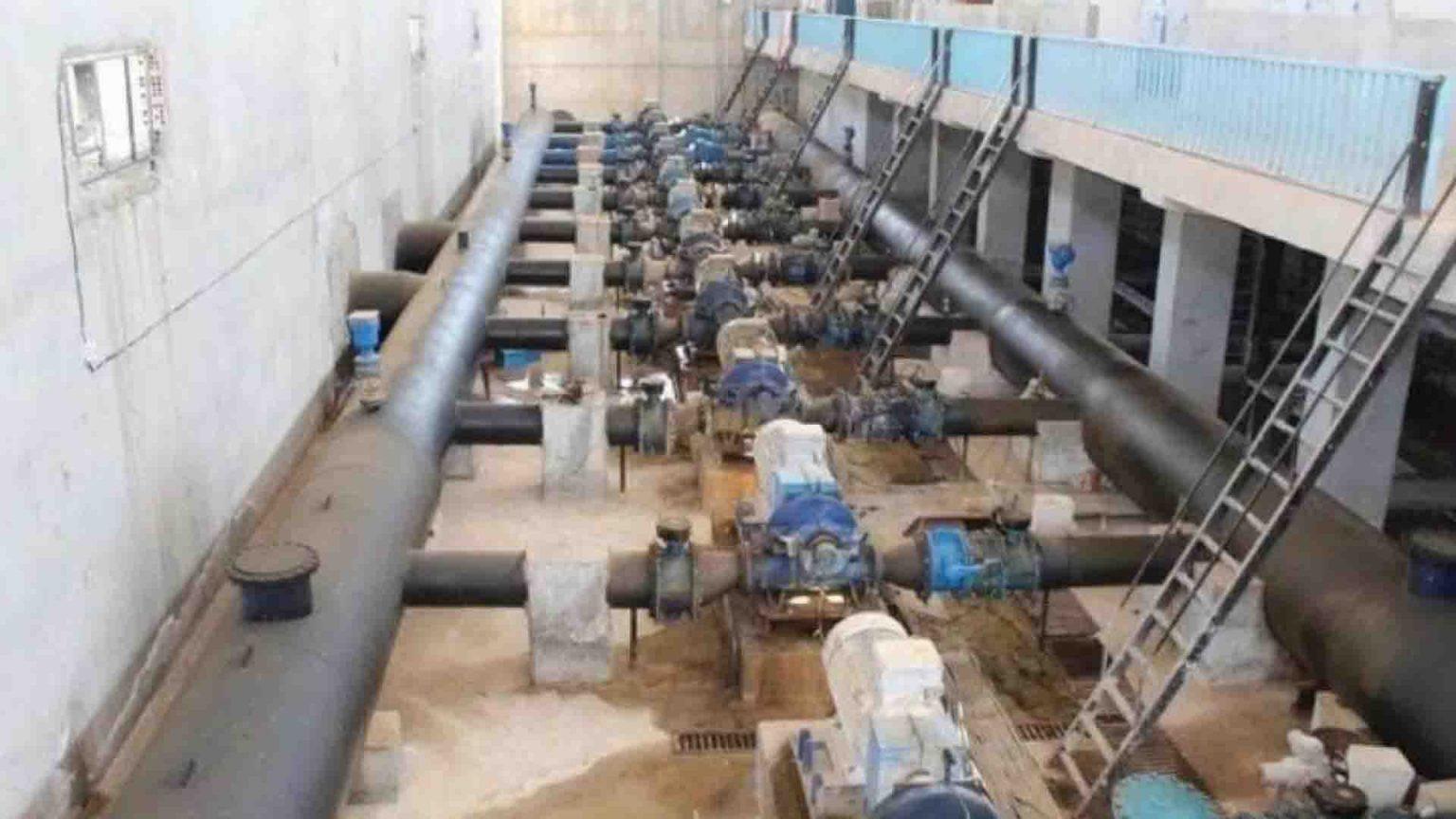 Alouk water station in Sere Kaniye.