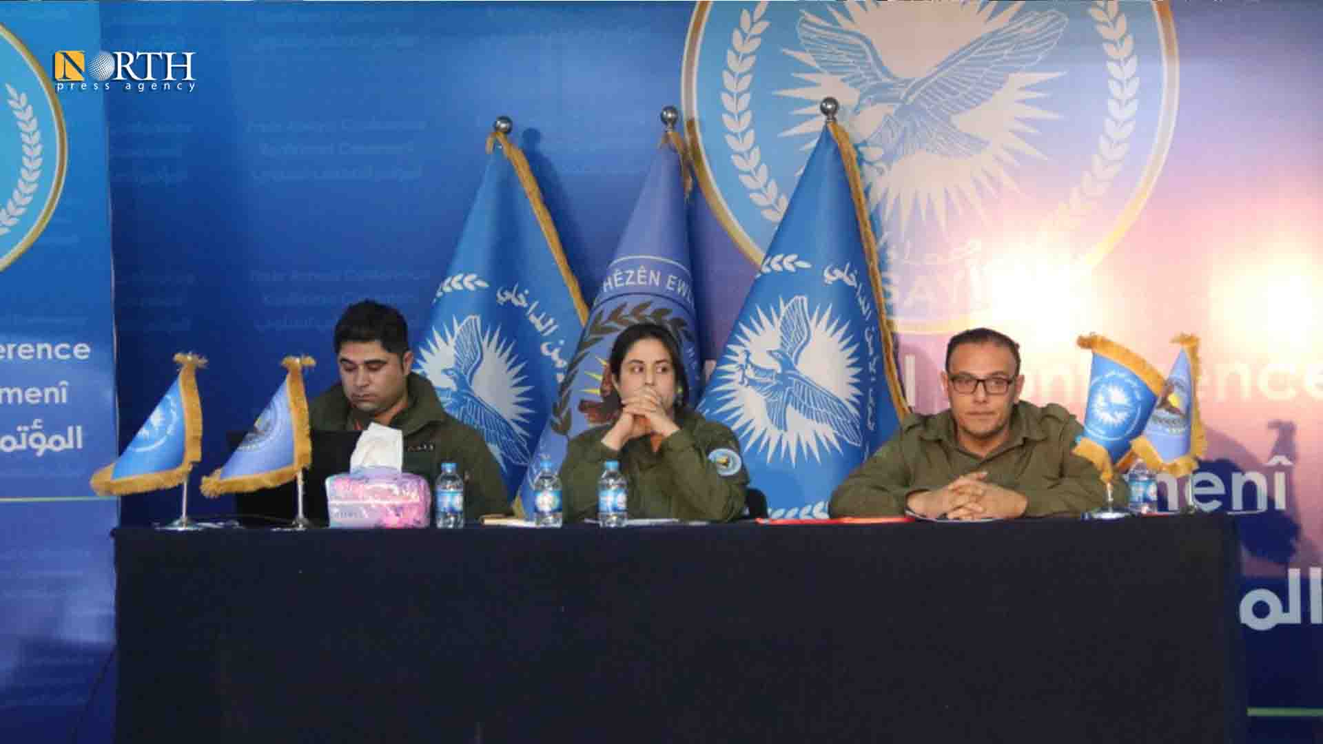 Annual conference of the Internal Security Forces (Asayish) in Rimelan – North Press