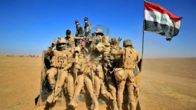 Photo of Iraqi soldiers were killed in an explosion in Sinjar district, Iraq