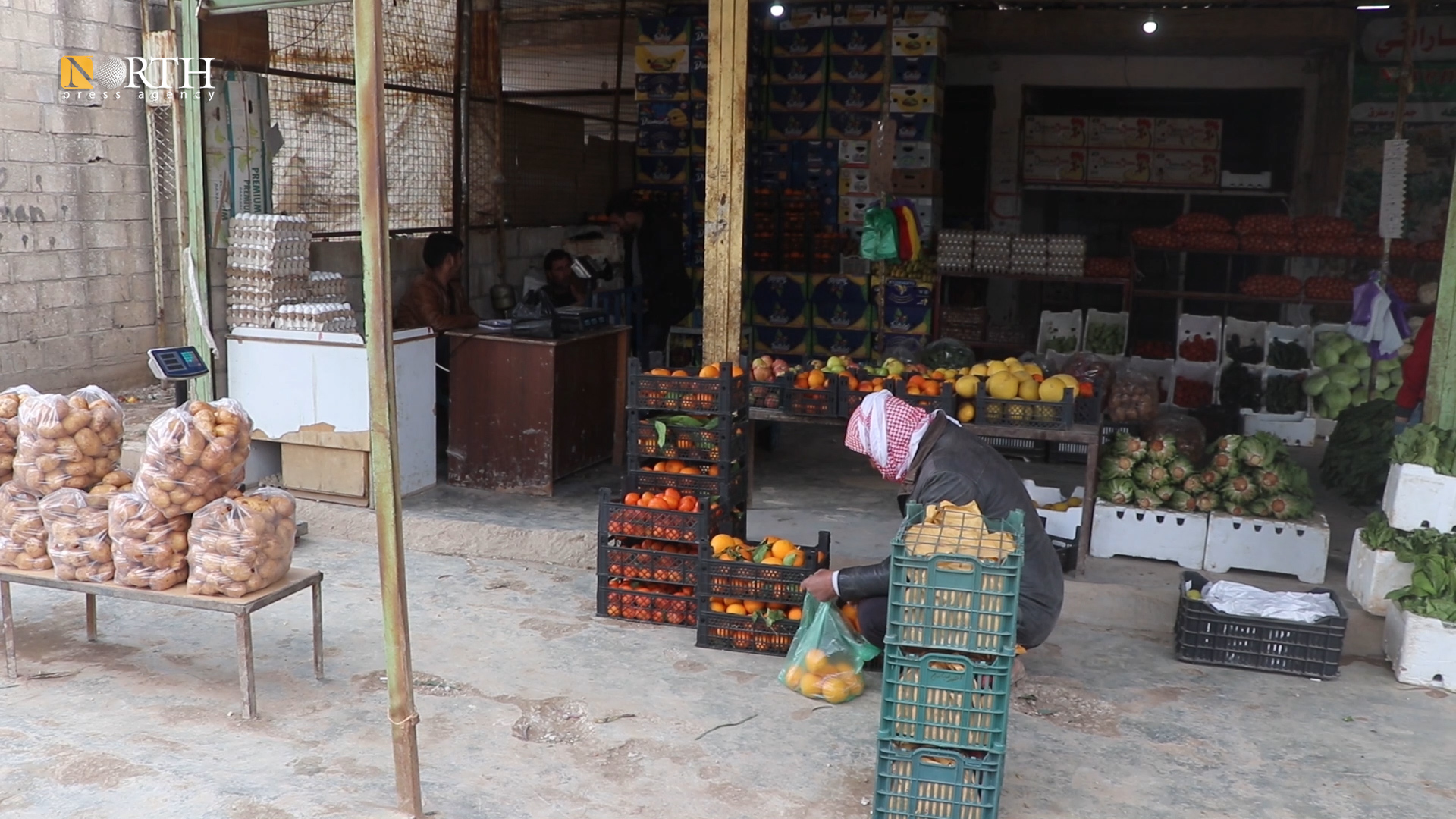 A grocery in Tel Tamr town, northeast Syria – North Press
