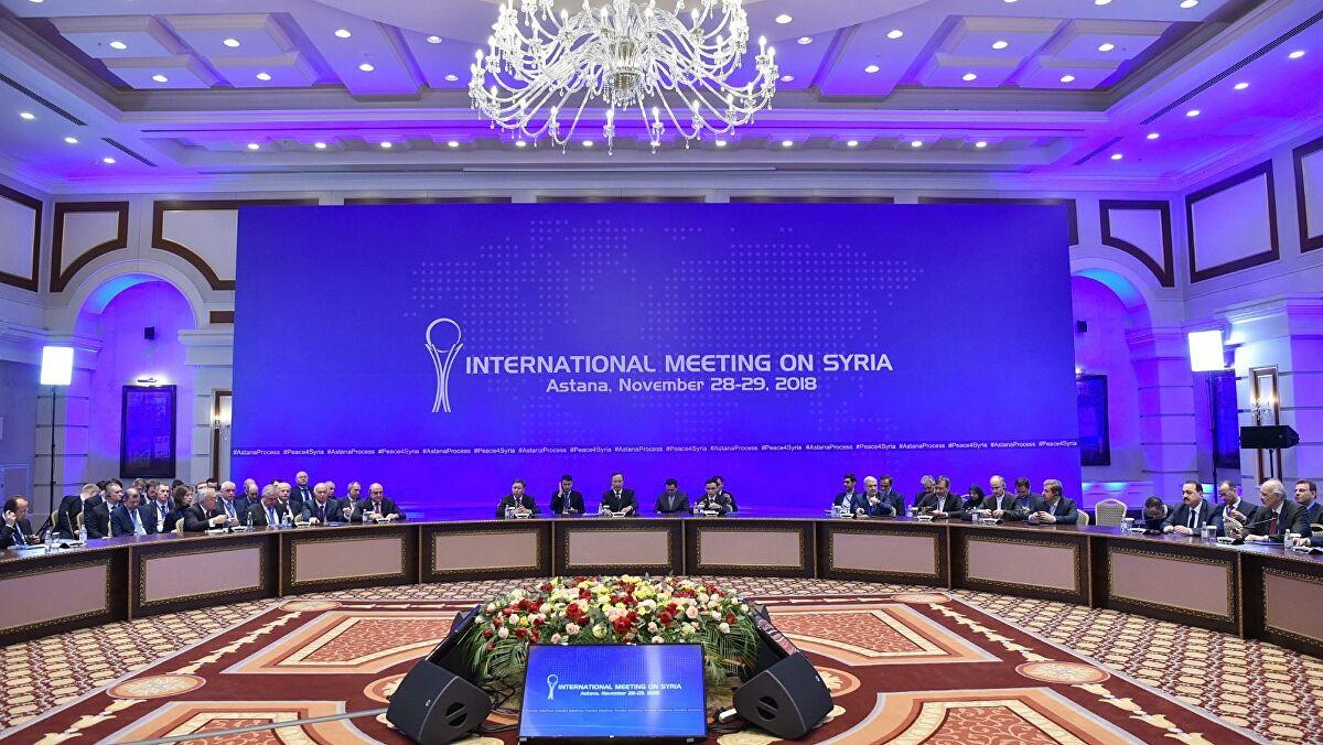 Astana tripartite meeting in Sochi, Russia