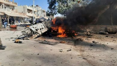 Photo of IED exploded in Syria's Sere Kaniye, leaving casualties