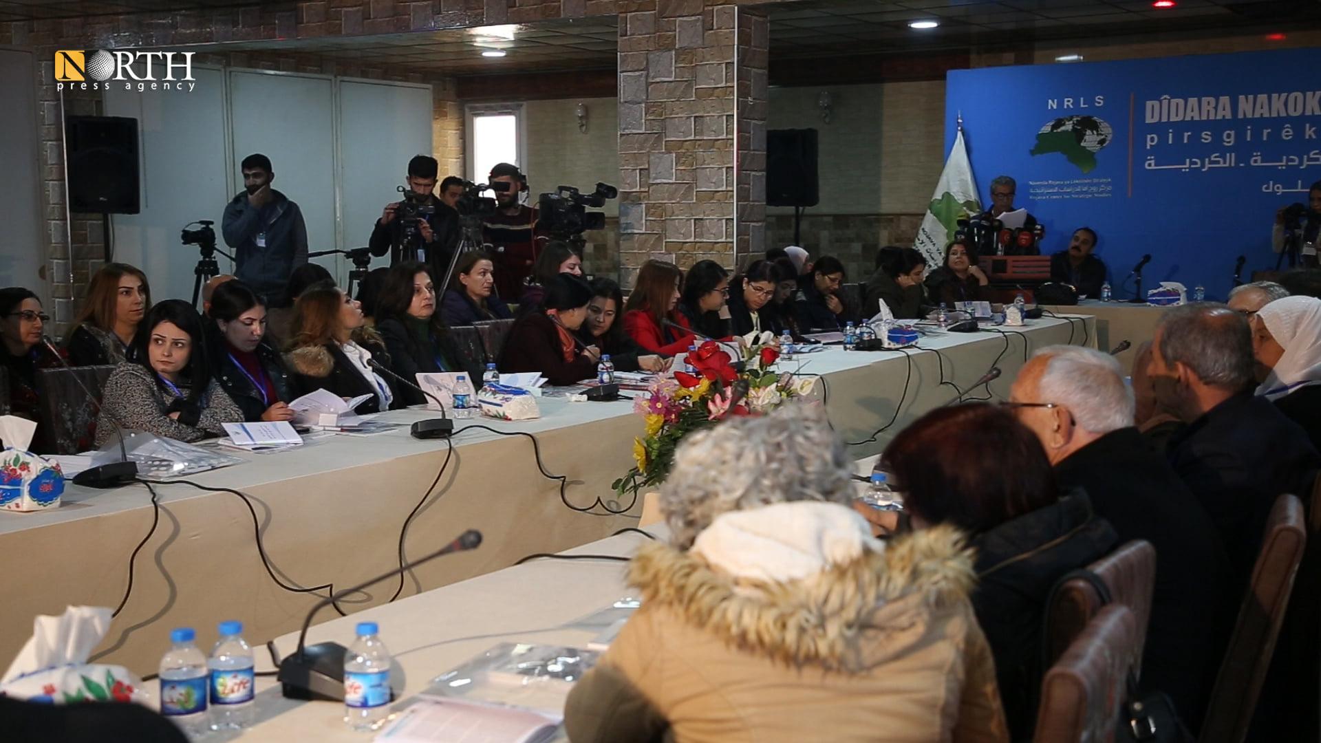 Intra-Kurdish dialogue forum in Qamishli city – North Press