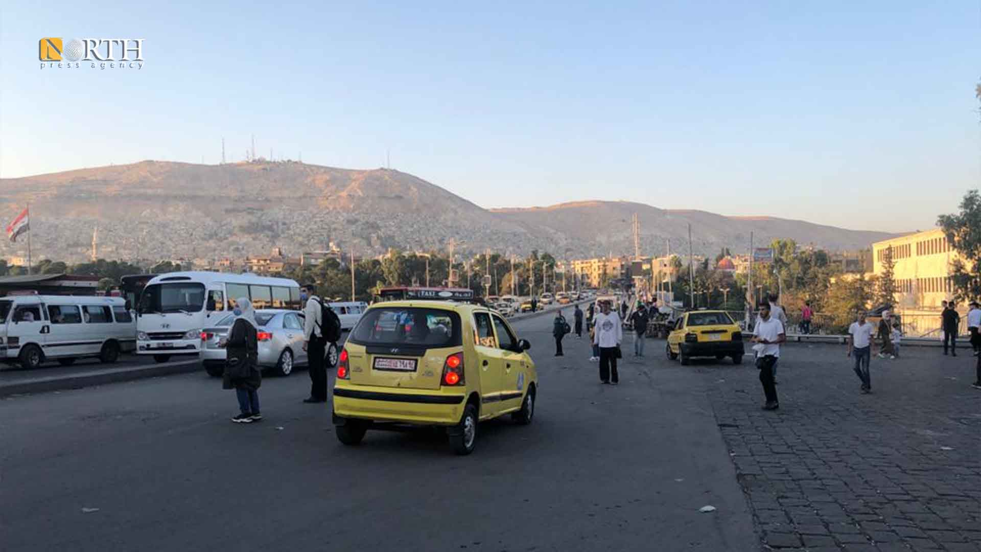 Jisr al-Ra'is in the city center of Damascus - North Press