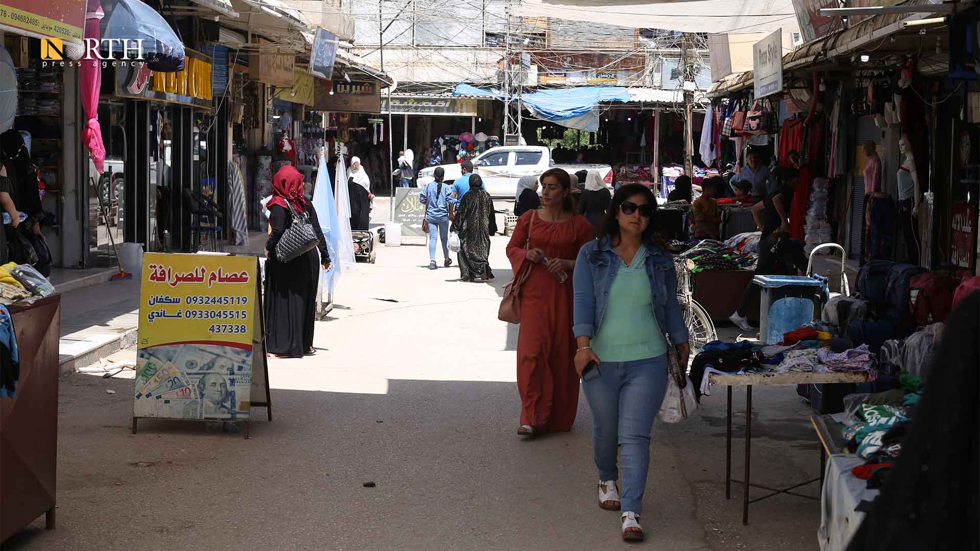 Marketplace of the city of Qamishli – North Press