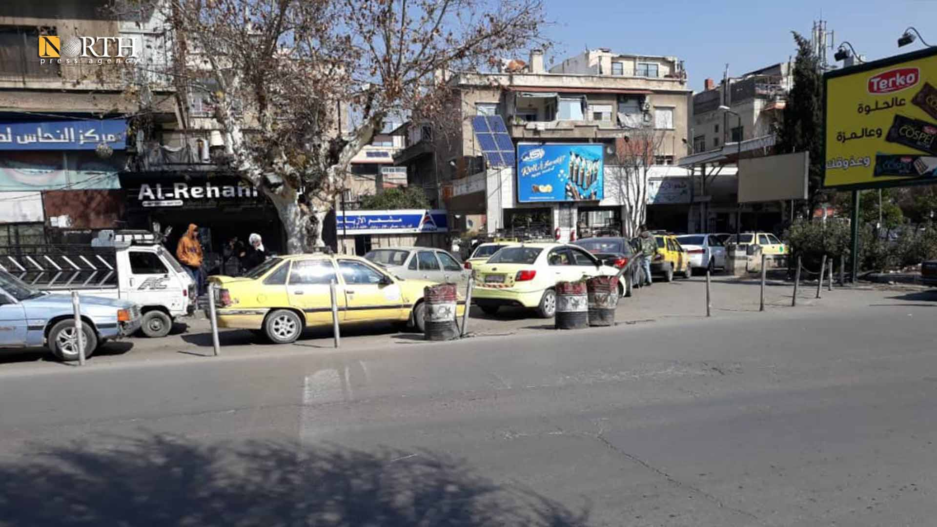Overcrowding in front of al-Azbakiya fuel station in Damascus – North Press