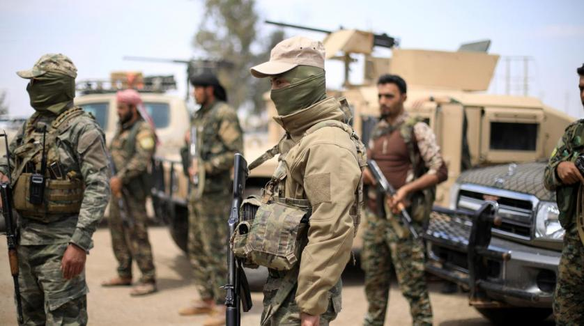 The Syrian Democratic Forces (SDF)