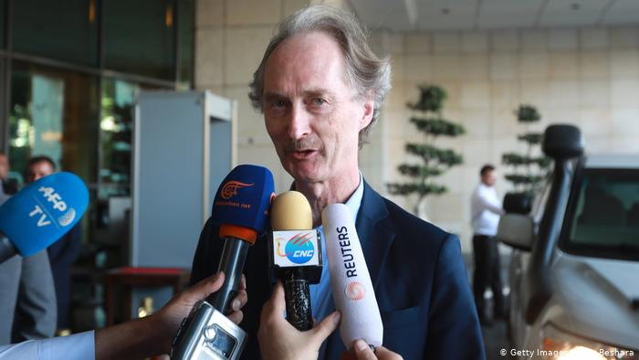 UN Special Envoy for Syria, Geir Pedersen