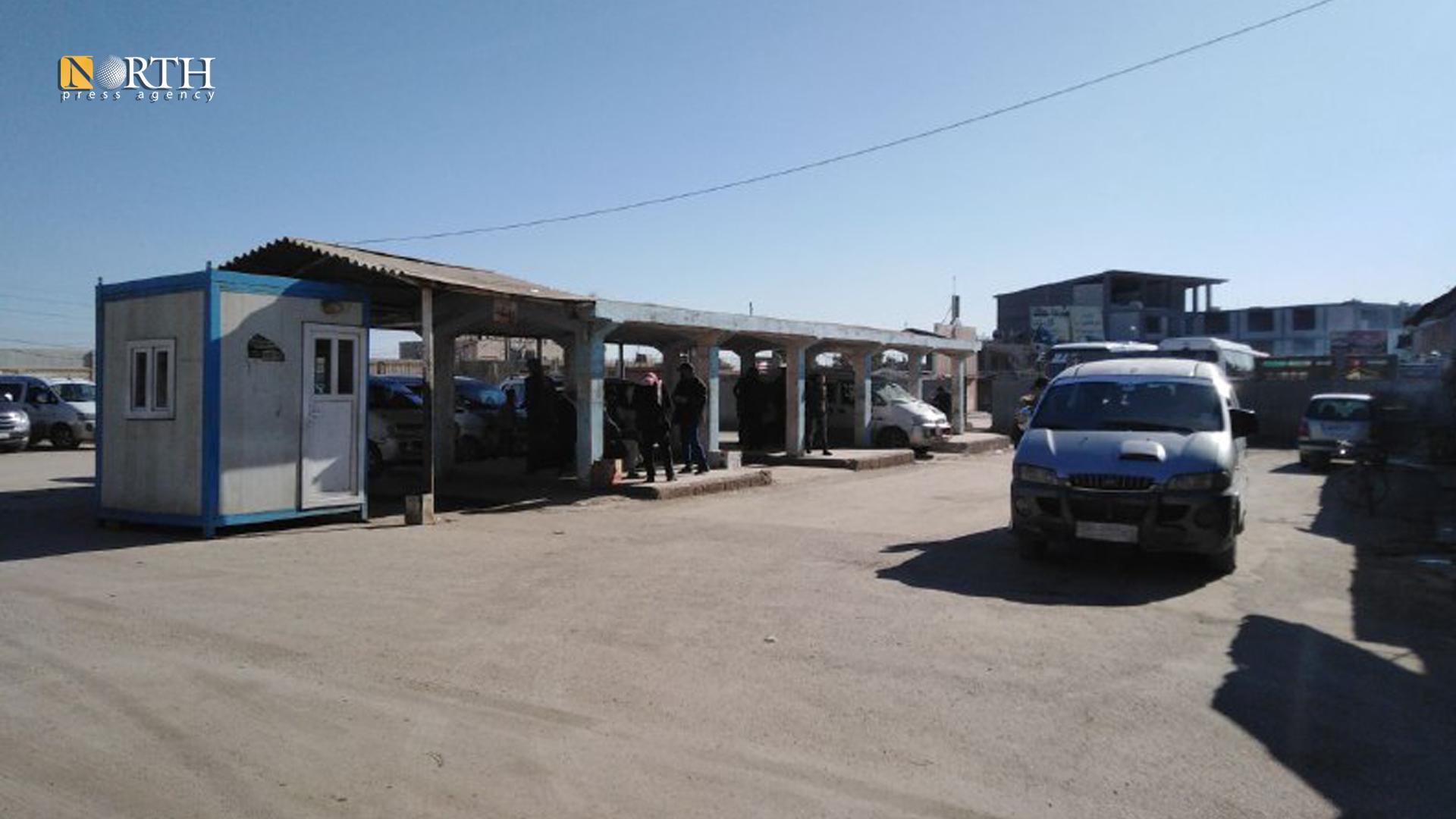 al-Sina'a garage in the city of Qamishli, northeast Syria – North Press