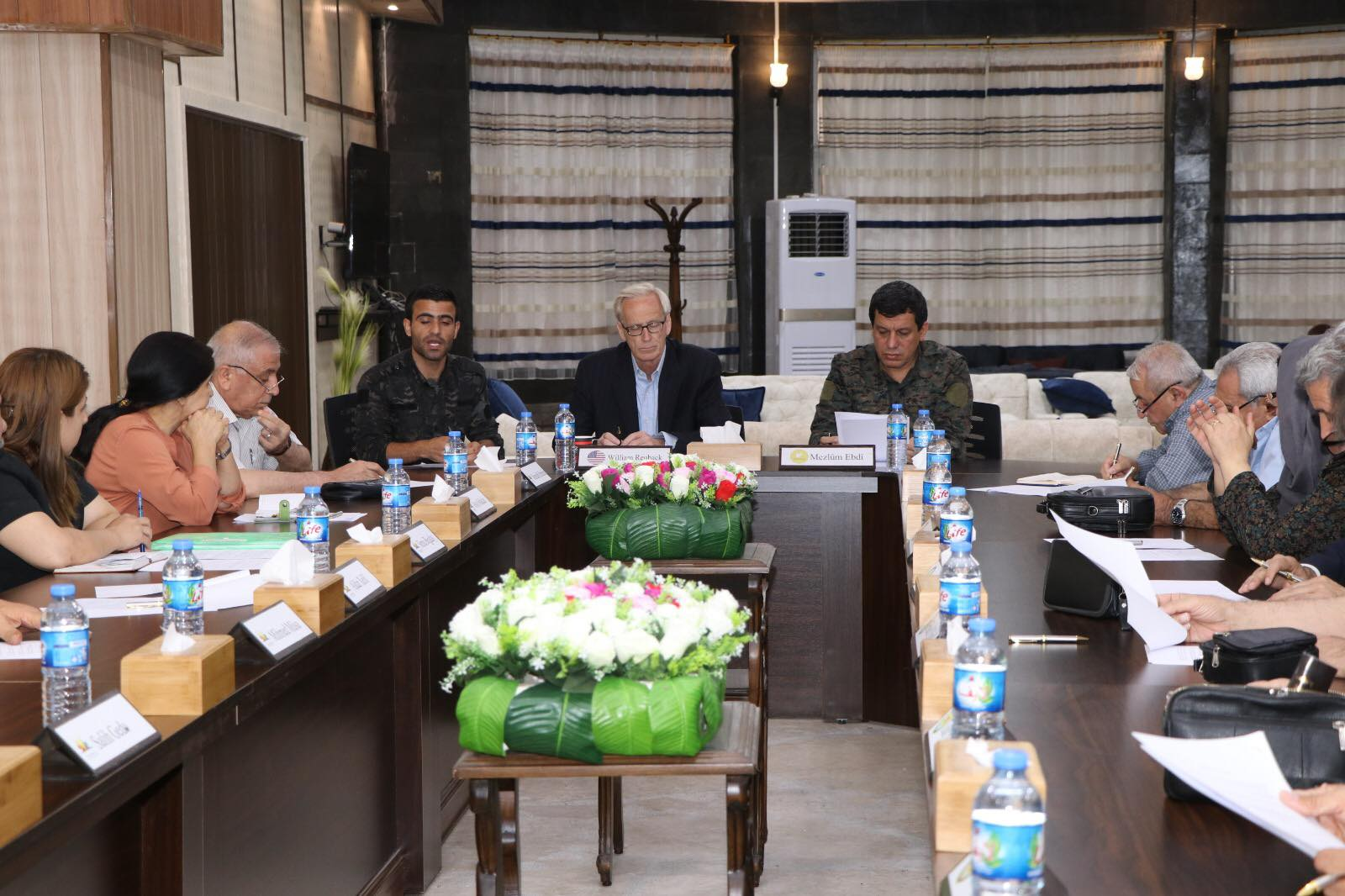 parties of the Intra-Kurdish talks with American guarantor for negotiations.