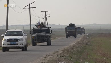 Photo of Russian forces conduct joint patrol with Turkey in Syria's Kobani