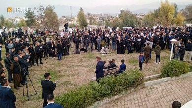 Photo of Kurdistan's Halabja commemorates massacre on 33rd anniversary