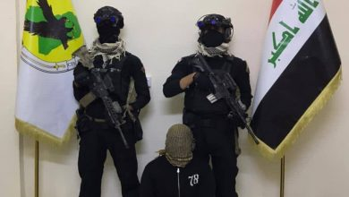 Photo of Four ISIS militants arrested in different Iraqi governorates