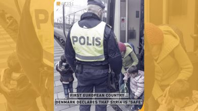 "Photo of Denmark has been criticized for its recent policy of denying refugees from Syria residency, on the grounds that Damascus and its surroundings are ""safe."""