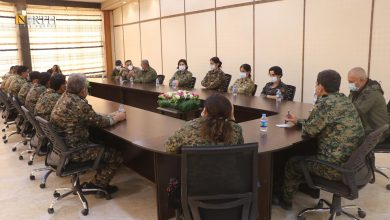 Photo of SDF discusses combating terrorism with Manbij Military Council