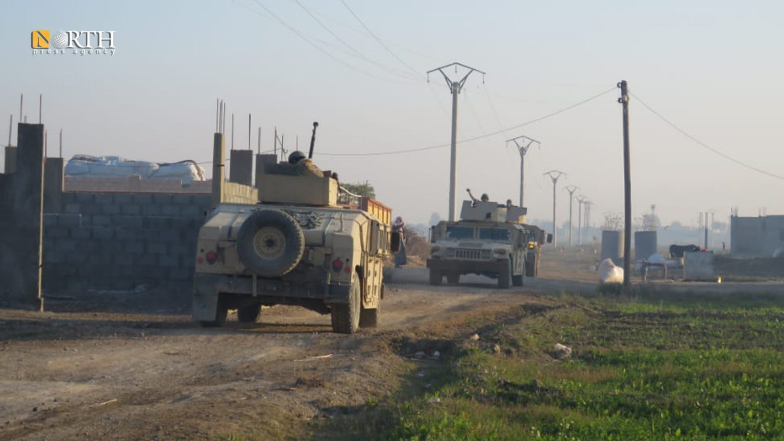 A military patrol of the SDF during the arrest of a wanted person – North Press/archive
