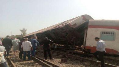 Photo of Train derailed in Egypt, dozens injured