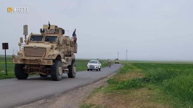 Photo of American forces conduct patrol in Syria's Derik countryside
