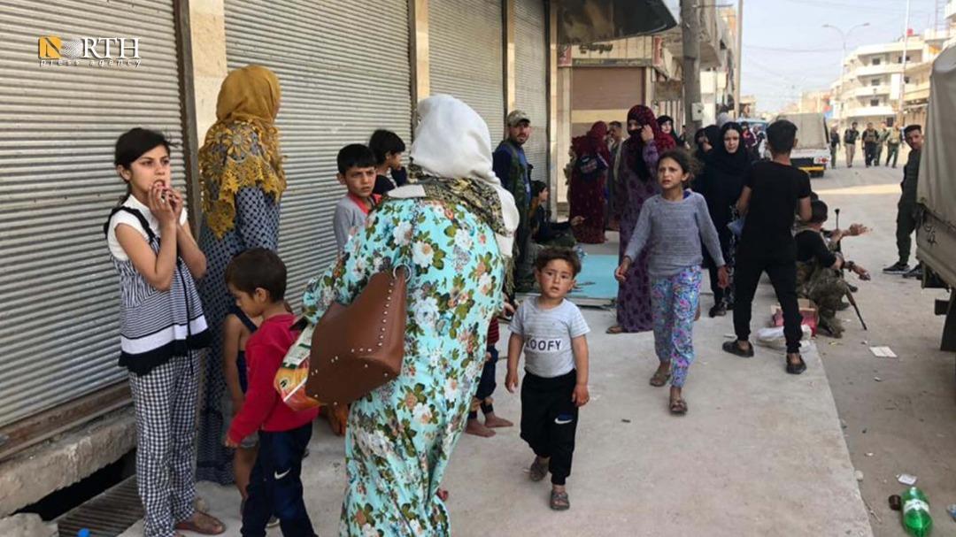 Asayish helps evacuate civilians from al-Tai neighborhood in Qamishli – North Press