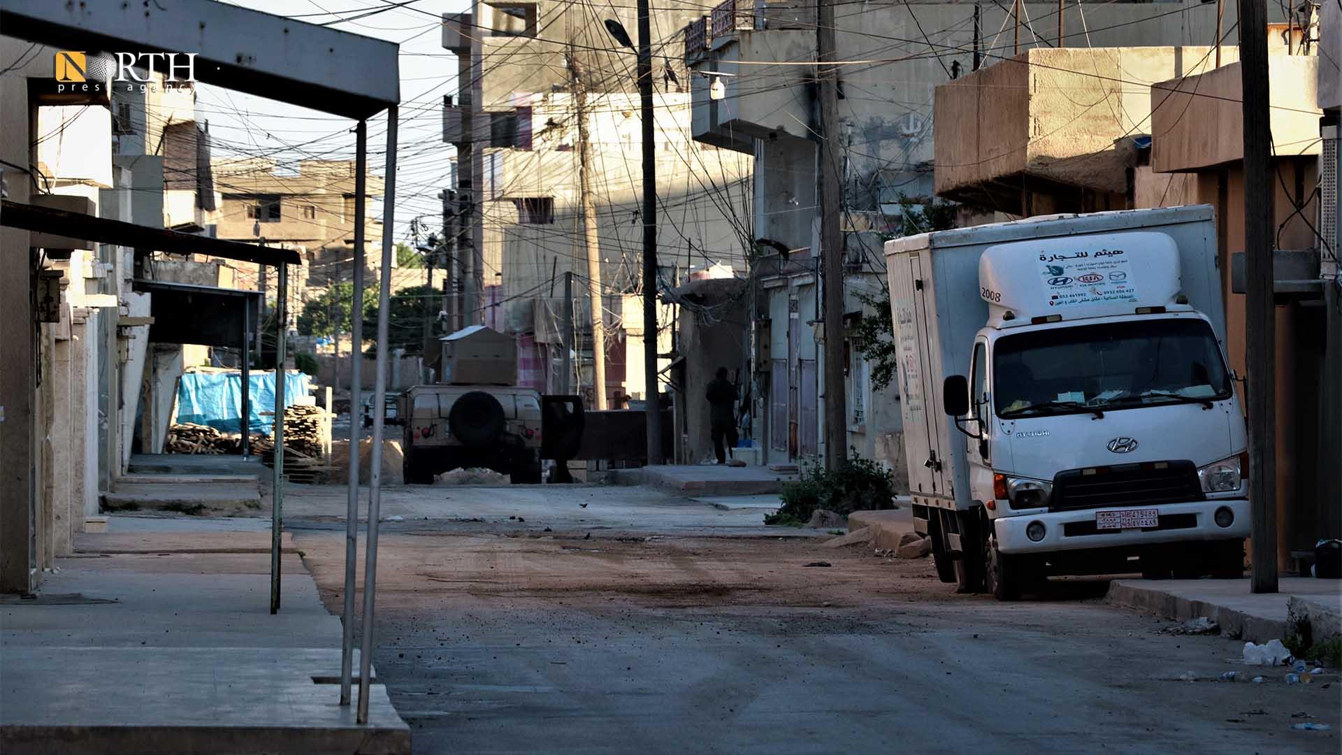 Asayish members deploy inside al-Tai neighborhood in Qamishli – North Press.