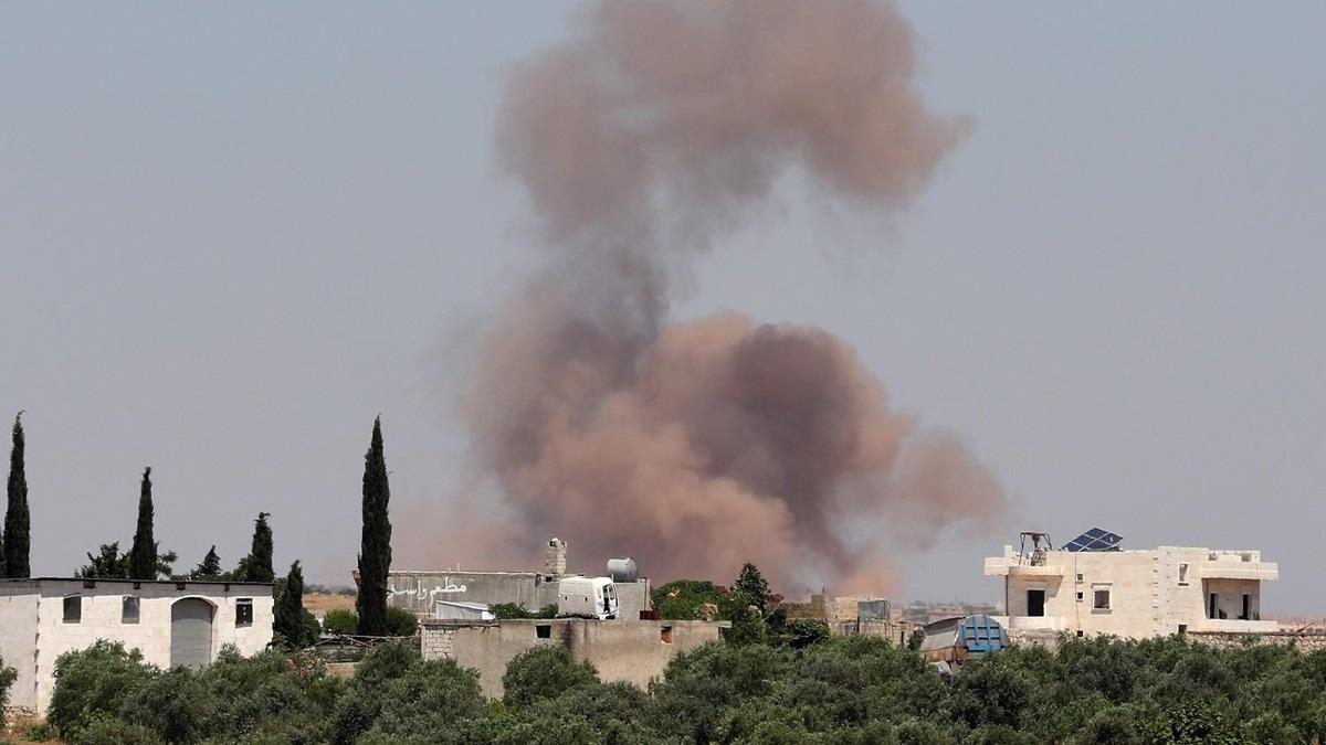 Bombardment on Idlib countryside- North Press
