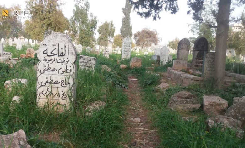 Photo of Displaced people in Syria's Idlib face difficulties in burying their dead